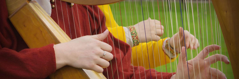 Harfe in Leipzig